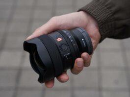Lensa Sony FE 14mm