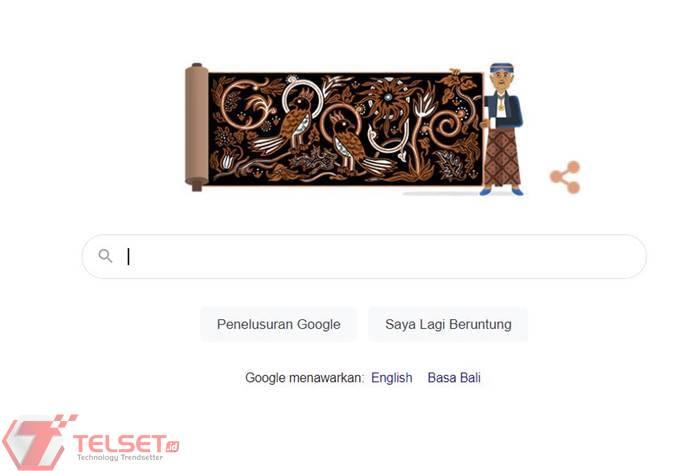 Go Tik Swan Batik Google Doodle