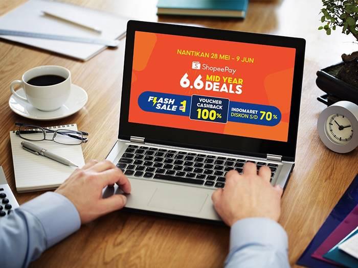 Yuk Intip Beragam Promo Menarik di ShopeePay 6.6 Mid Year Deals