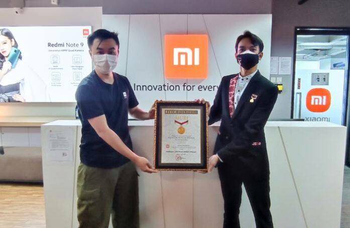 Xiaomi Rekor MURI