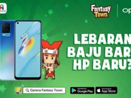 Oppo A54 Fantasy Town