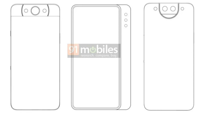 Xiaomi Patenkan Desain Smartphone Kamera Slider dan Pop-up Berputar