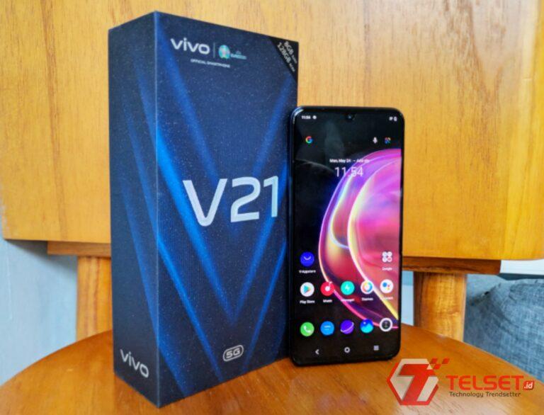 Vivo V21 5G Resmi Mendarat di Indonesia, Ini Spesifikasi dan Harganya