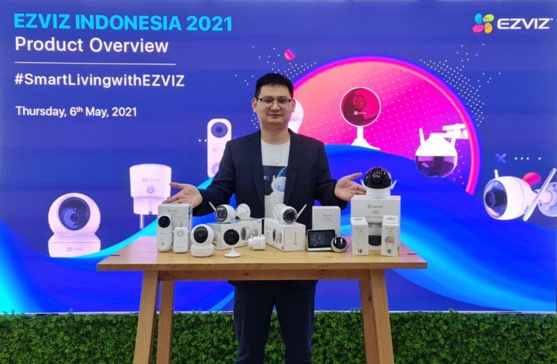 Produk Smart Home Kamera CCTV Ezviz