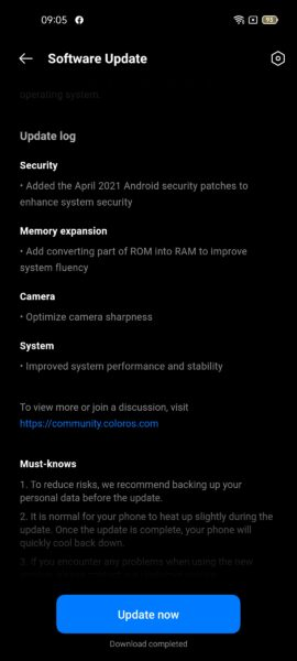 RAM Expansion Oppo A74