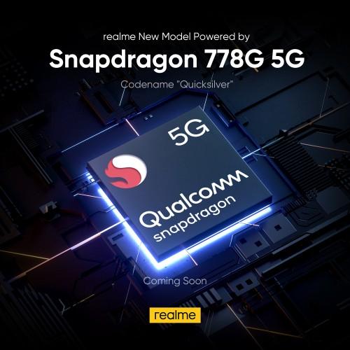 Realme Quicksilver Snapdragon 778G
