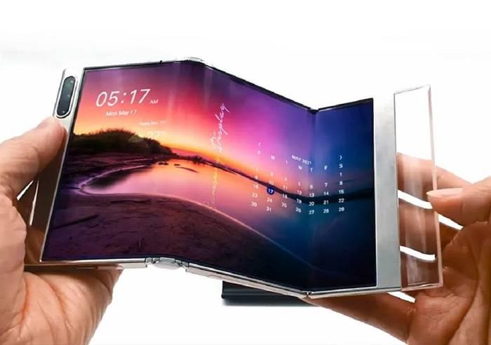 Samsung Smartphone Lipat terbaru S-Foldable