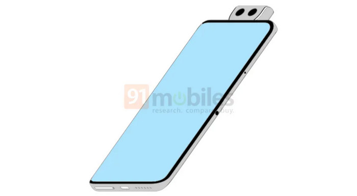 smartphone kamera pop-up Xiaomi