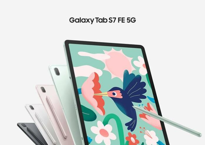 Spesifikasi Harga Samsung Galaxy Tab S7 FE 5G Indonesia