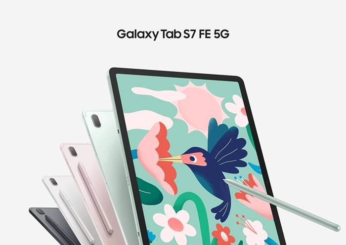 Samsung Galaxy Tab S7 FE Siap Dukung Jaringan 5G di Indonesia