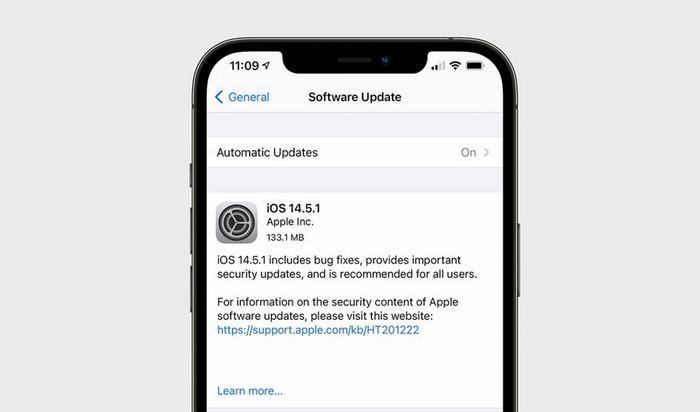 Update iOS 14.5.1