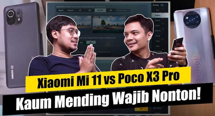 Compare Xiaomi Mi 11 vs Poco X3 Pro: Mendingan Mana?!