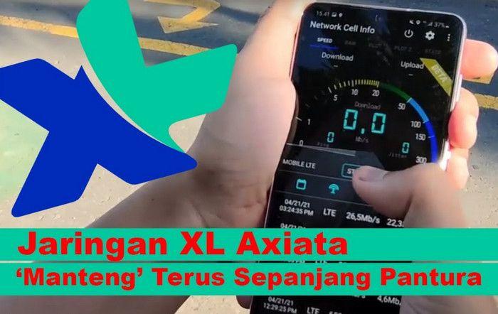 Drive Test: Jaringan XL Axiata 'Manteng' Terus Sepanjang Pantura