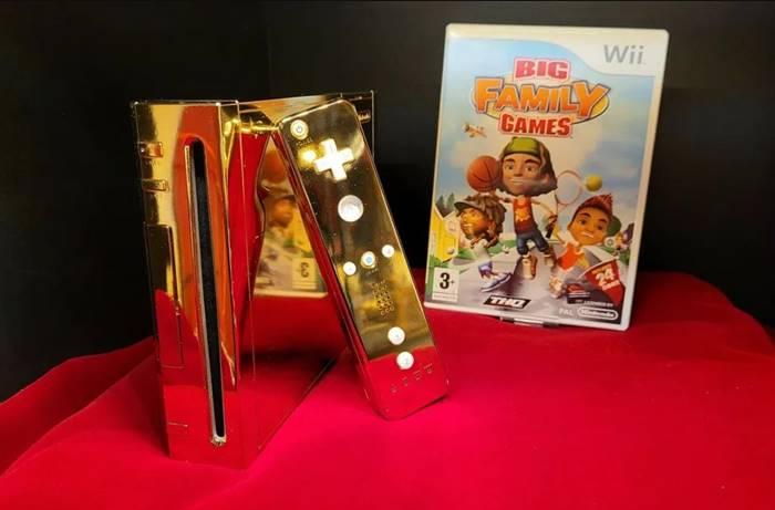 Dijual! Nintendo Wii Berbalut Emas yang Dibuat untuk Ratu Elizabeth
