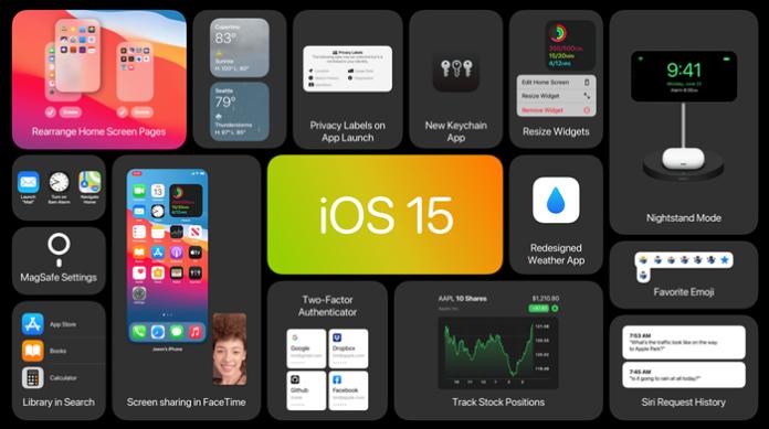 Fitur Apple iOS 15