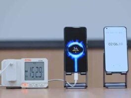 fast charging xiaomi