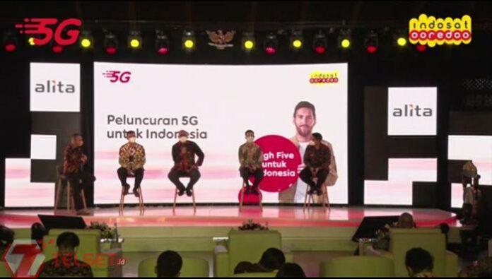 Cara internet Indosat 5G