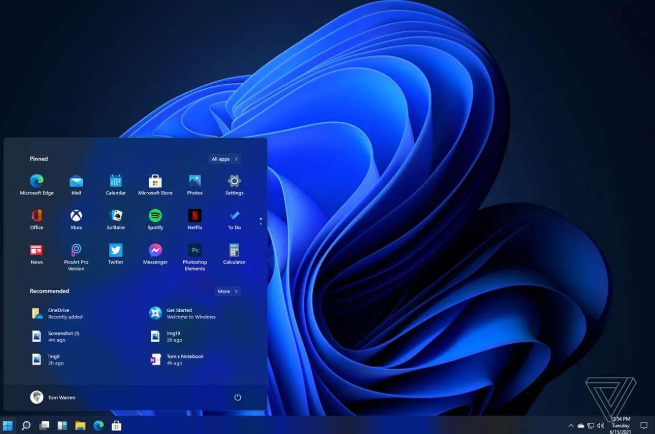 Bocoran UI Windows 11