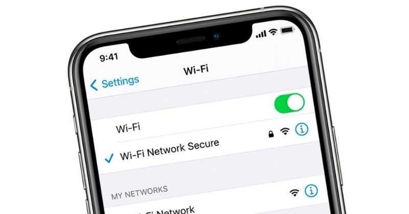 Bug WiFi iPhone