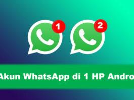 Dua WhatsApp satu HP