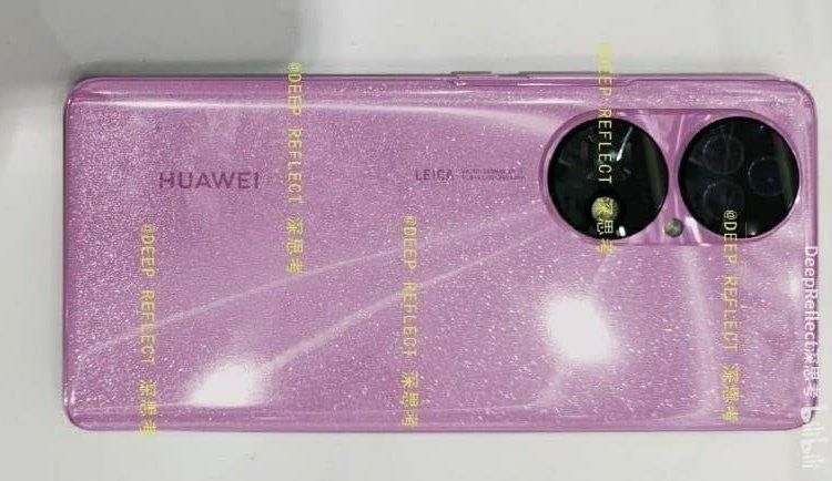 Foto Huawei P50 dengan Balutan Warna Pink, Cute Banget!