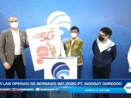 Indosat Ooredoo Layanan 5G