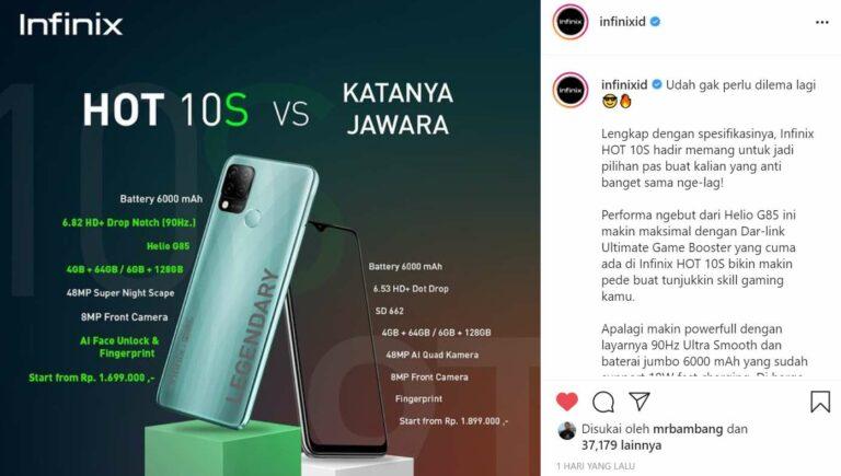 "Sindiran ""No Mention"" Infinix Bikin Bos Xiaomi Indonesia Geram"