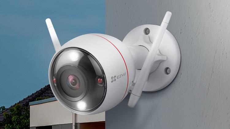 Ezviz C3W Pro, Kamera CCTV Outdoor dengan Fitur Color Night Vision