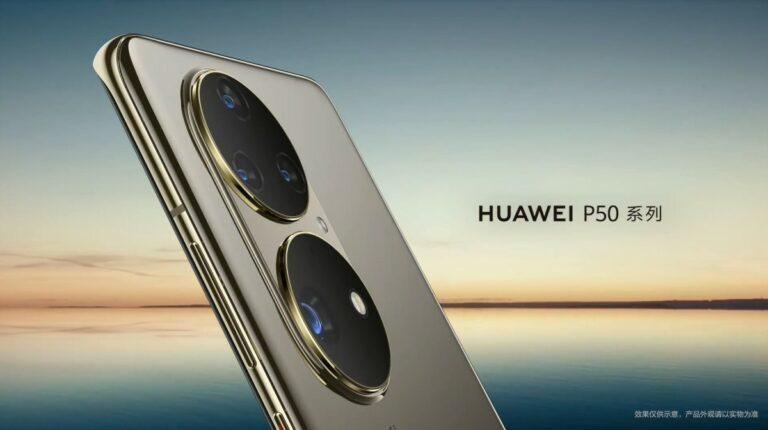 Snapdragon 888 4G Huawei P50 Pink