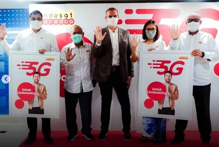 Indosat akan Luncurkan Layanan 5G di 4 Kota pada Akhir Juni