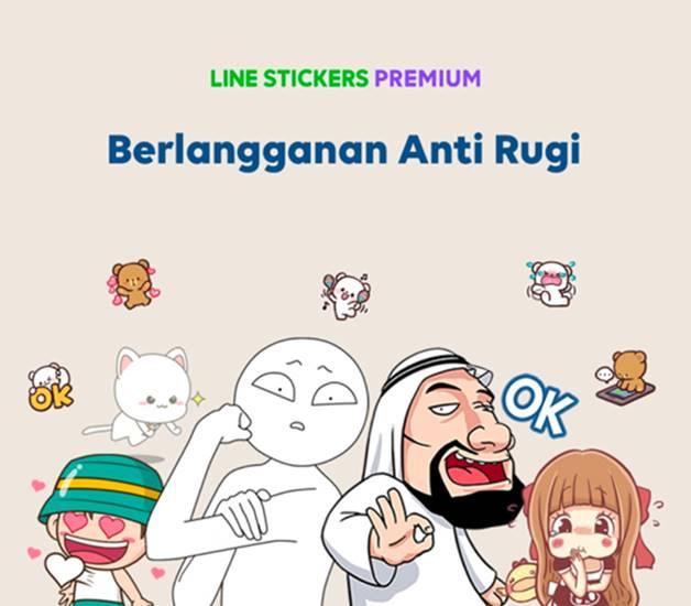 Harga Line Stickers Premium