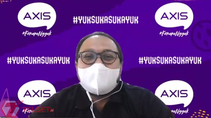 Pengguna Axis Suka Streaming dan Nge-game Selama Pandemi