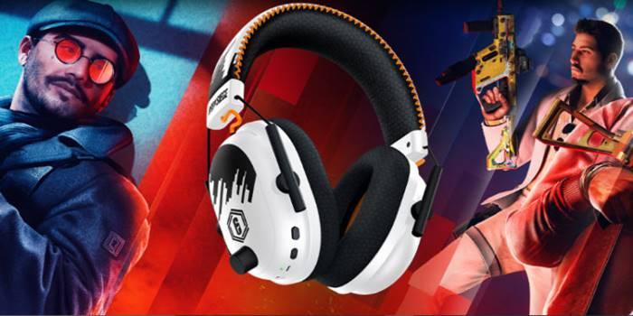 Headset Gaming Razer BlackShark V2 Pro Six Siege Special Edition.