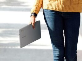 Laptop untuk pelajar Samsung Chromebook 4 Indonesia