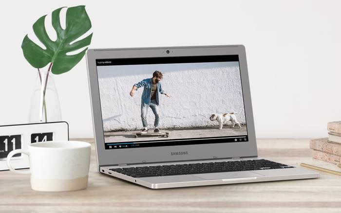 Laptop terbaru Samsung Chromebook 4 Indonesia