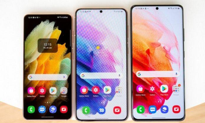 Layar Samsung Galaxy S22