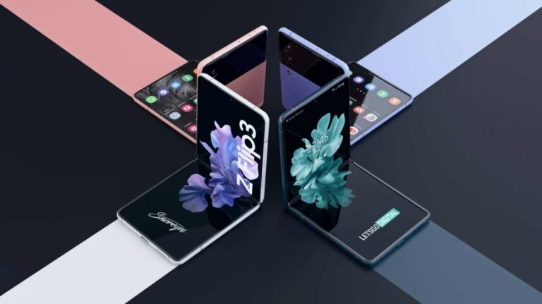 Desain Galaxy Z Fold3