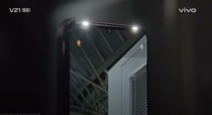 Selfie Spotlight Vivo V21 5G