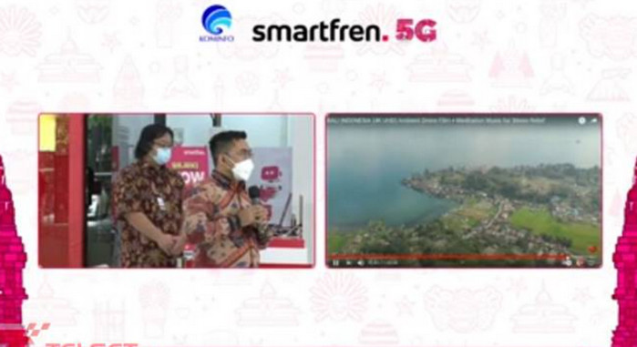 Uji Coba Kecepatan Internet Smartfren 5G Tembus 1,85 Gbps
