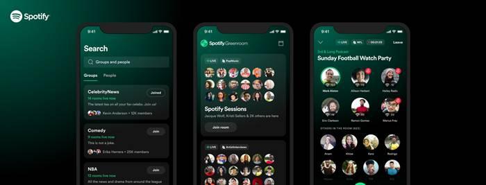 Cara Unduh dan Daftar Aplikasi Spotify Greenroom, Mirip Clubhouse