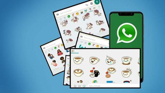 Pencarian Stiker WhatsApp