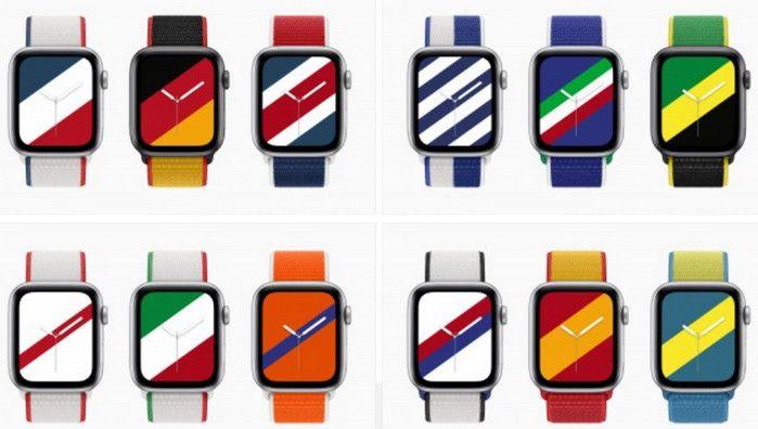 Edisi Baru! Tali Jam Apple Watch Berkelir Motif Bendera