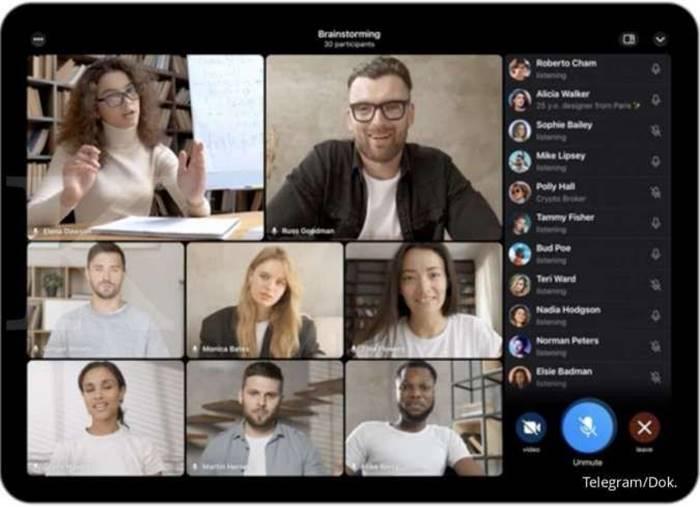 Video Call Grup Telegram