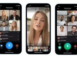 Video Call Group Telegram