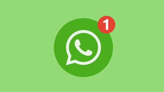 WhatsApp notifikasi