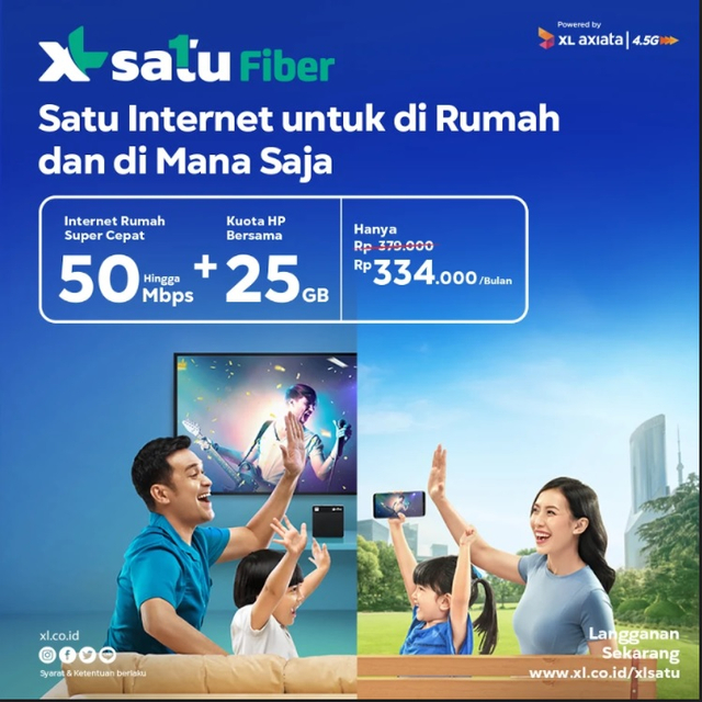 XL Satu Fiber Home