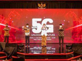 Telkomsel 5G Surakarta Jokowi