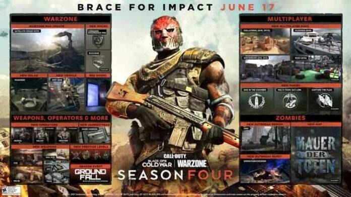 Update Season 4 Call of Duty