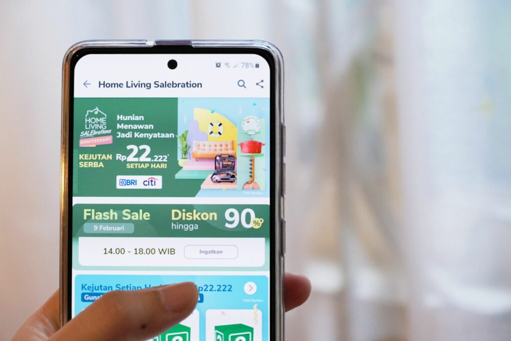 Promo Tokopedia Home Living SALEbrations