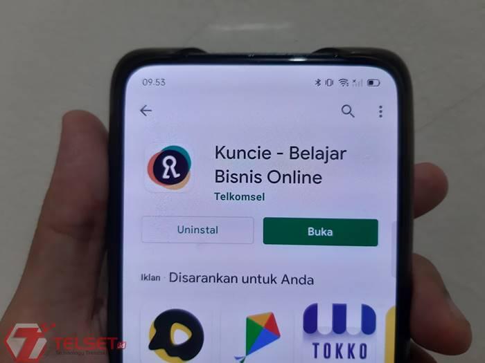 Aplikasi Kuncie Telkomsel